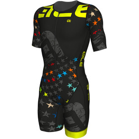 Alé Cycling Triathlon Stelle Herrer sort/farverig